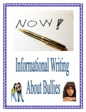 Informative Research Essay Writing in Common Core about Bullying