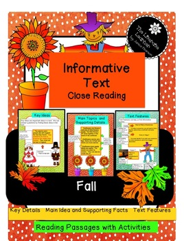 Informative Text Close Reading 2nd and 3rd Grades