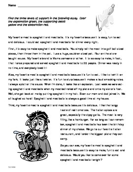 Informative Text Introduction 2 (CCSS W.6.2a)