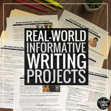Informative Writing: 10 Real-World Assignments for Secondary ELA