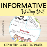 Informative Nonfiction Writing Unit for 2nd and 3rd Grade
