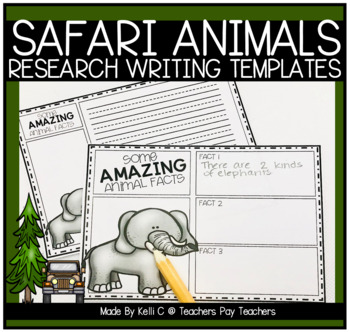 Information Writing About Safari Animals