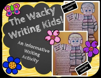 Informative Writing Activity-Wacky Writing Kids