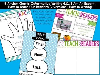 Informative Writing Anchor Charts
