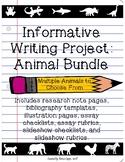 Informative Writing: Animals, Animals, & More Animals