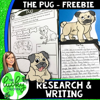 Informative Writing | Animal Research Project Template | FREEBIE
