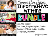 Informative Writing BUNDLE