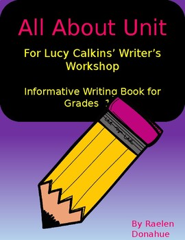 Informative Writing Book Template