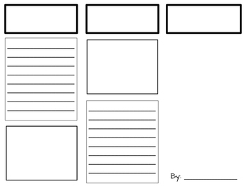 Informative Writing Brochure Unit