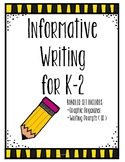 Informative Writing ** Bundle