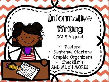 Informative Writing C.C.L.S Aligned