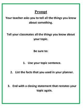 Informative Writing Grades K-3