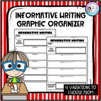 Informative Writing Graphic Organizer