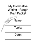 Informational Writing Graphic Organizer: 3rd Grade