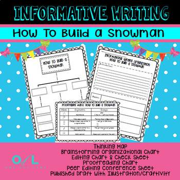 Informative Writing - How To Build A Snowman