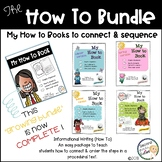 How to writing, connect & order steps in a procedural text