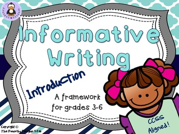 Informative Writing: Introduction