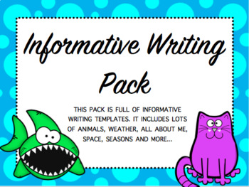 Informative Writing Pack