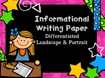 Informational Writing Paper
