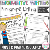 Informative Writing Paragraph Sentence Starters ANY Topic,
