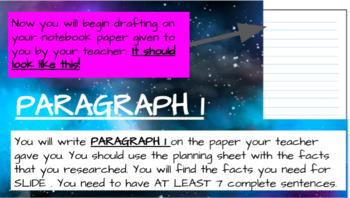 Informative Writing Pear Deck Unit