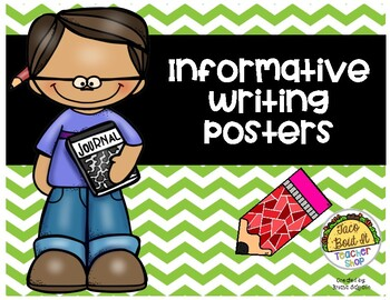 Informative Writing Posters