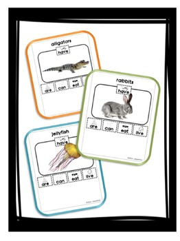 Informative Writing Prompts A-Z Animals- Bundle Set