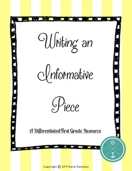 Informative Writing Resource