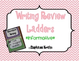 Informative Writing Review Ladder - Owl Theme