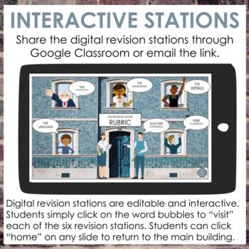Informative Writing Revision Stations