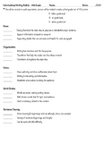 Expository/Informative/Report Writing Rubric