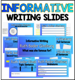 Informative Writing Slides
