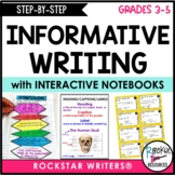 Step By Step Informative Writing with Model Lessons