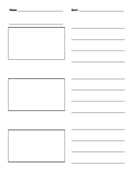Informative Writing - Straight Lines
