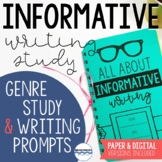 Informative Writing Study - Lessons for Expository & Expla