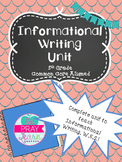 Informative Writing Unit- 5th Grade