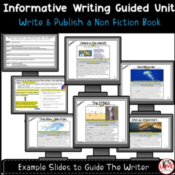 Informative Writing Unit: Writing & Publishing Non Fiction Books