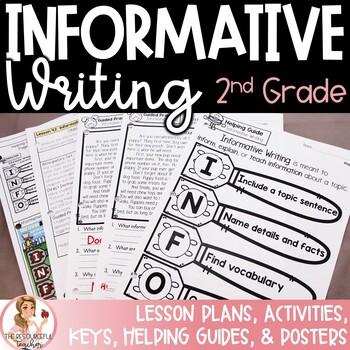 Informative Writing Bundle using Step up to Writing