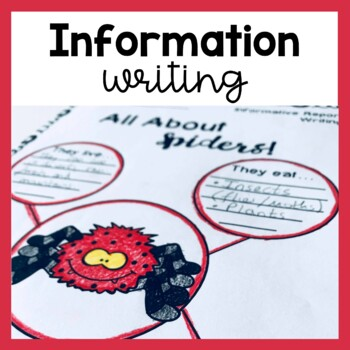 Informative Writing Worksheets Graphic Organizers Tpt