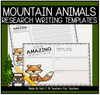 Informative Writing about Mountain Animals
