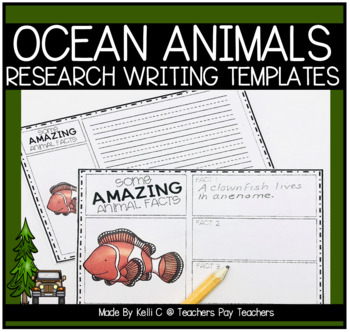 Informative Writing about Ocean Animals