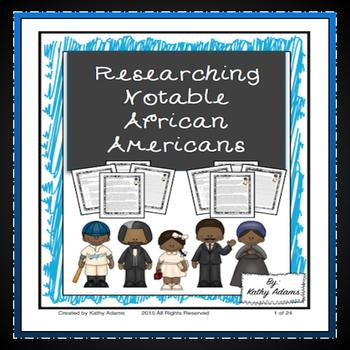 Informative Writing and Research African Americans