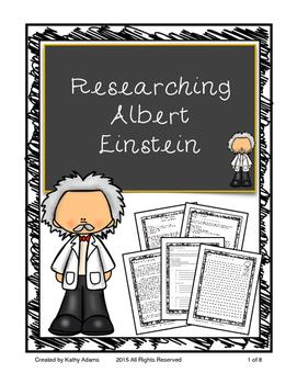 Informative Writing and Research Albert Einstein