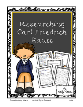 Informative Writing and Research Carl Friedrich Gauss
