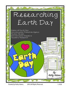 Informative Writing and Research Earth Day