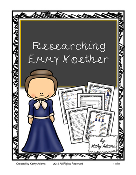 Informative Writing and Research Emmy Noether
