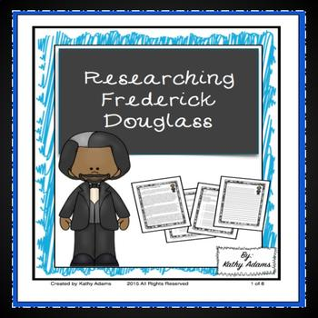 Informative Writing and Research Frederick Douglass
