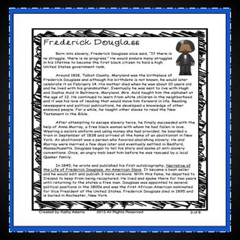 Frederick Douglass Research
