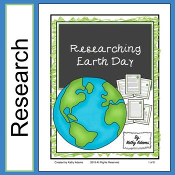 Informative Writing and Research History of Earth Day