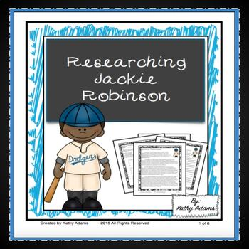 Informative Writing and Research Jackie Robinson